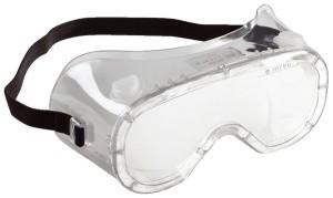Les lunettes de protection d'un broyeur