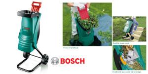 broyeurs de végétaux marque Bosch