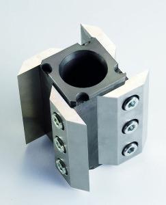 système à rotor porte-couteaux